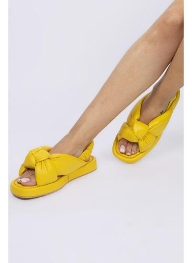 Female Project Outdoor Sandalet Sarı